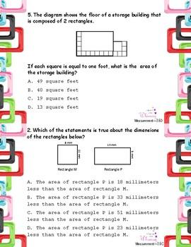 Measurement Word Problems **TEKS Aligned**