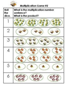3rd grade. Multiplication Strategies Dice Games