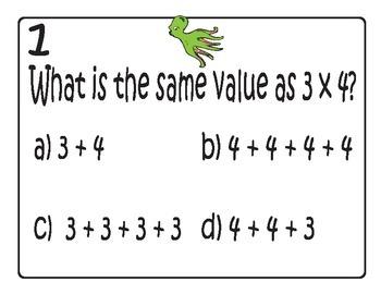 3rd grade Multiplication Walkabout *Octopus*