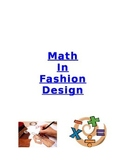 3rd grade Multiplication and Division Project:  I Want To Be a Fashion Designer