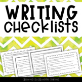 Writing Checklists - Third Grade