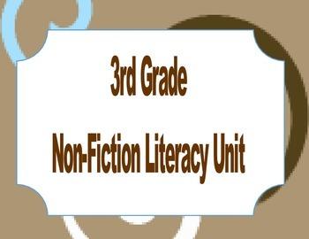 3rd grade Non-fiction Unit