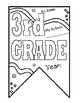 3rd grade Pennant Banner for Back to School