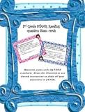3rd grade Reading STAAR question stem cards by TEKS standards