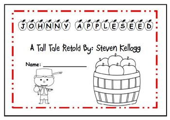 3rd grade Reading Street Unit 2 Review  Johnny Appleseed Flipbook Project