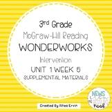 3rd grade Reading WonderWorks Supplement- Unit 1 Week 5