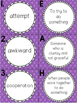 3rd grade Reading WonderWorks Supplement- Unit 2 Week 1
