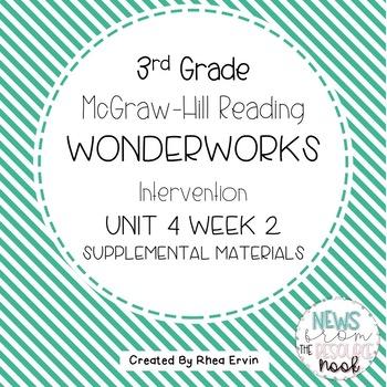 3rd grade Reading WonderWorks Supplement- Unit 4 Week 2