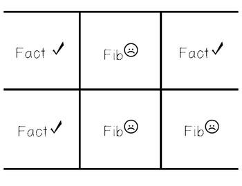 3rd grade STAAR Review_fact or fib