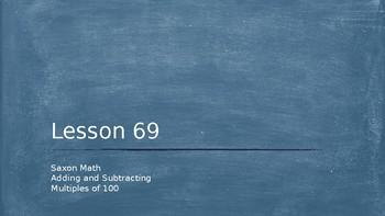 3rd grade Saxon Math Lesson 69