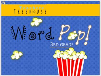 3rd grade Sight Words Word Pop!