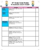 3rd grade Social Studies Benchmarks Checklist for Nevada