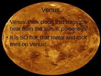 3rd grade Solar System Powerpoint