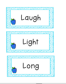 3rd grade Spelling Words AND Sight words: CCSS Aligned