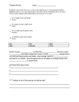 3rd grade Star Assignment