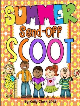 3rd grade Summer Send-Off SCOOT and Memory Book~ Classmate