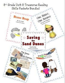 3rd grade Treasures Reading Bundled-Unit 3