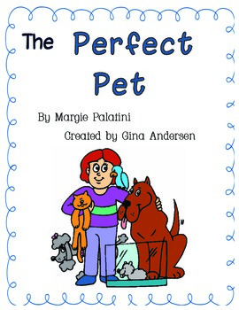 "3rd grade Treasures Reading Unit 1 Week 5 ""The Perfect Pet"""