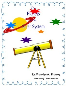"""3rd grade Treasures Reading Unit 2 Week 4 """"The Planets in"""