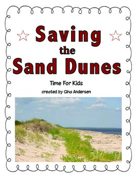 "3rd grade Treasures Reading Unit 3 Week 3 ""Saving the Sand Dunes"""