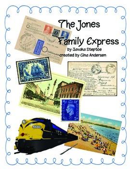 "3rd grade Treasures Reading Unit 3 Week 4 ""The Jones Family Express"""""