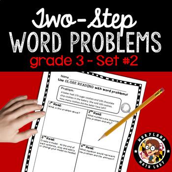 3rd Grade Multiple Step Word Problems Worksheets Teaching