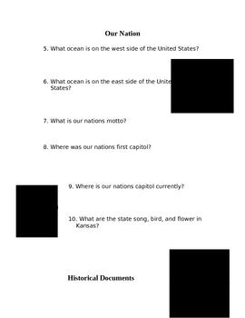 3rd grade US Government webquest