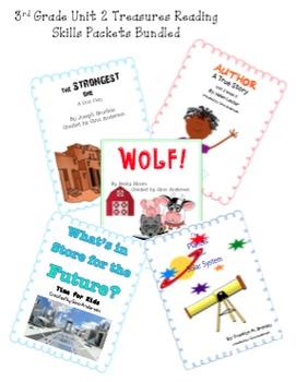 3rd grade Treasures Reading Bundled-Unit 2