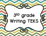 3rd grade Writing TEKS