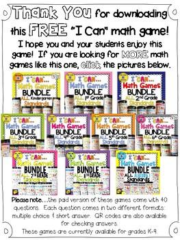 3rd grade addition game