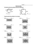 3rd grade area and perimeter worksheet in Spanish