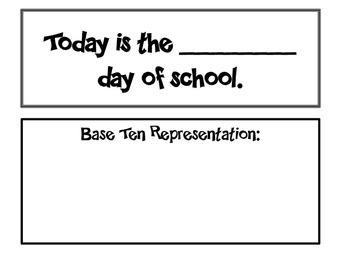 3rd grade calendar routines