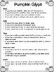 3rd grade fall math/glyph center ideas