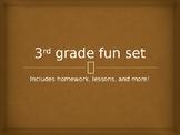 3rd grade fun!