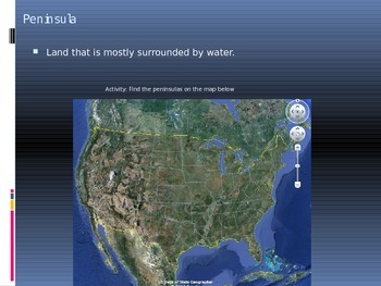 Interactive Geography Vocab