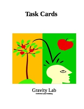 3rd grade gravity lab task cards