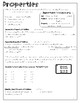 3rd grade math notes - SCCCRS (SC College and Career Ready Standards)