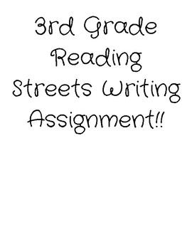 3rd grade reading streets- I Love Saturdays and Domingos!