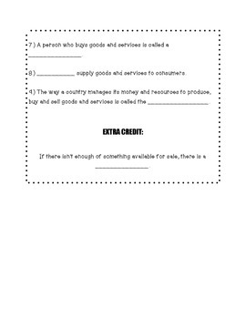 3rd grade restaurant project