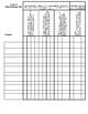 3rd grade standards grading sheet