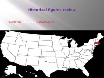 3rd historical figures and map location of birth places