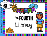 3rd to 4th Grade Literacy Pack Only No Prep Pack