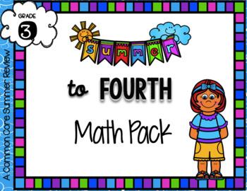 3rd to 4th Summer Math