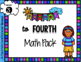 3rd to 4th Summer Math