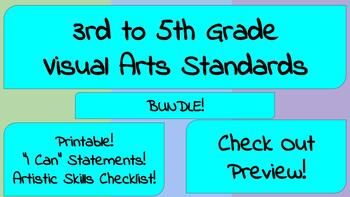 3rd to 5th Grade Visual Arts Standards