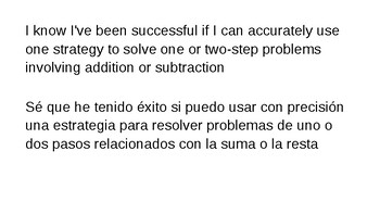 3rdGrade Bilingual Math&Science Content and Language Objectives Aligned to TEKS