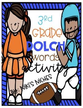 3rdGrade Dolch Sight Words: Make it, build it, write it