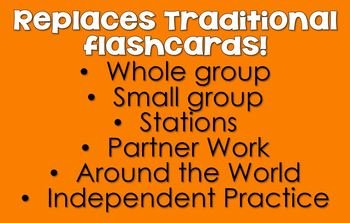 3s Facts - DIGITAL (Google) Multiplication Flash Cards -3's Family