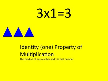 3's Multiplication Facts Interactive PowerPoint with Graphic Organizer