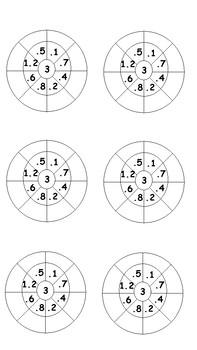 3x Multiplication Wheels